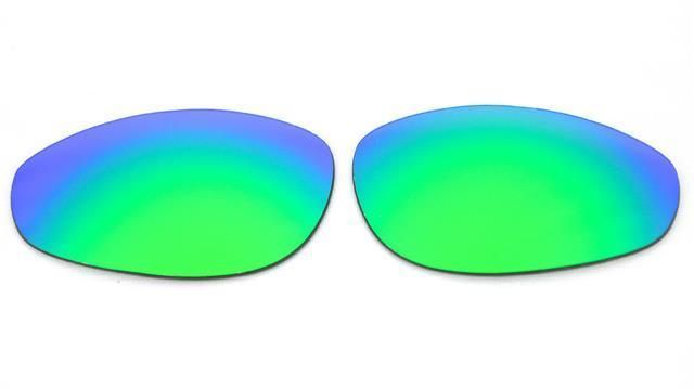 4ade82584e0 NEW POLARIZED CUSTOM GREEN LENS FOR OAKLEY A WIRE THICK SUNGLASSES